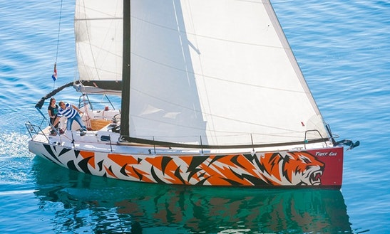 Charter 45' Tiger Cat Salona Cruising Monohull In Split, Croatia
