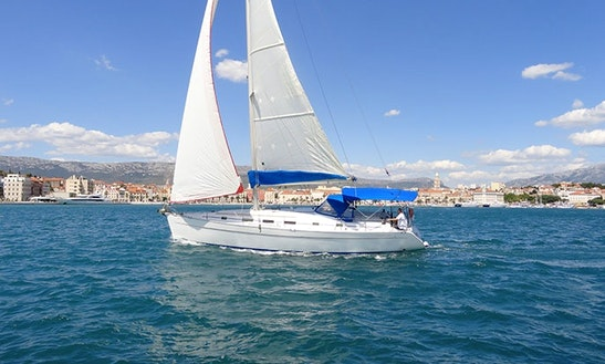 Charter 43' Spotty Dog Beneteau Cyclades Cruising Monohull In Split, Croatia