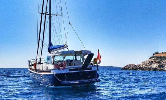 Charter 50' Miss Darina Gulet In Tivat, Montenegro