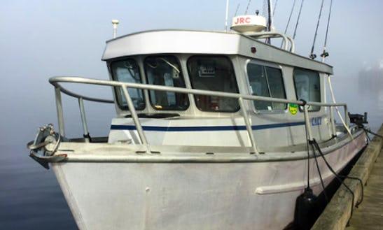 Fishing Charter On 32ft  Sports Fishing Vessel In Juneau, Alaska