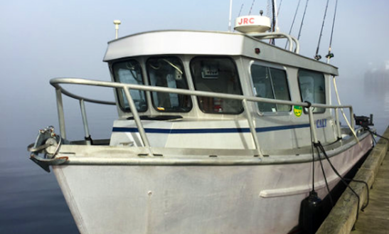 Fishing Charter On 32ft  Sports Fishing Vessel In Juneau, Alaska