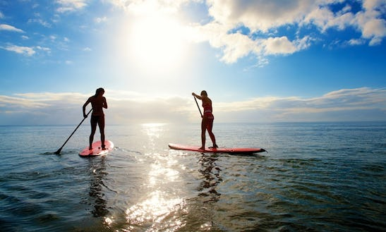 Enjoy Stand Up Paddleboard Rentals In Peniche, Leiria