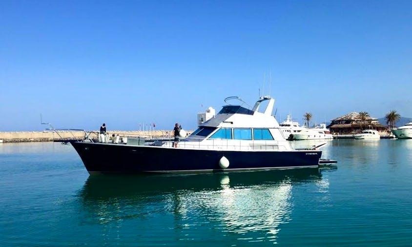 Charter Sitatunaga Motor Yacht in Agadir, Morocco