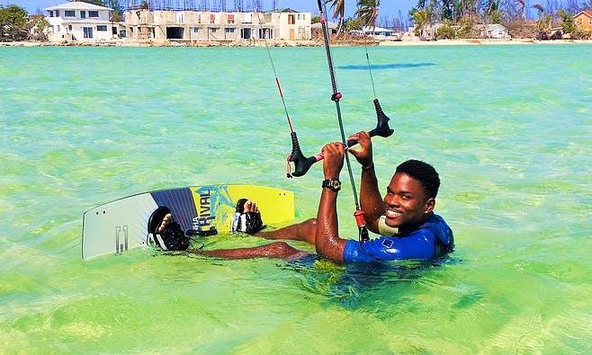 Enjoy Kiteboarding Lessons in San Salvador, Bahamas