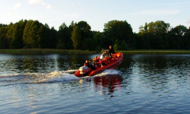 Charter a Rigid Inflatable Boat in Kuldīga, Latvia