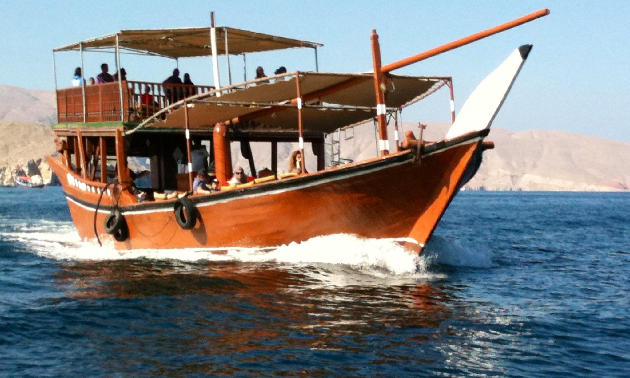 Cruise on a Wooden Boat in Al Khasab