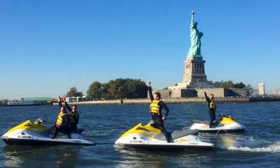 Jet Ski Tour In Jersey City, New Jersey