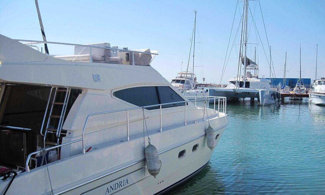 "Charter ""Andrea"" Motor Yacht in Dénia, Spain"