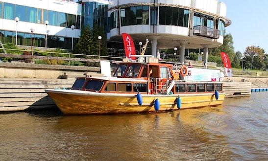 Charter M / L Alpha Motor Yacht In Tartu, Estonia