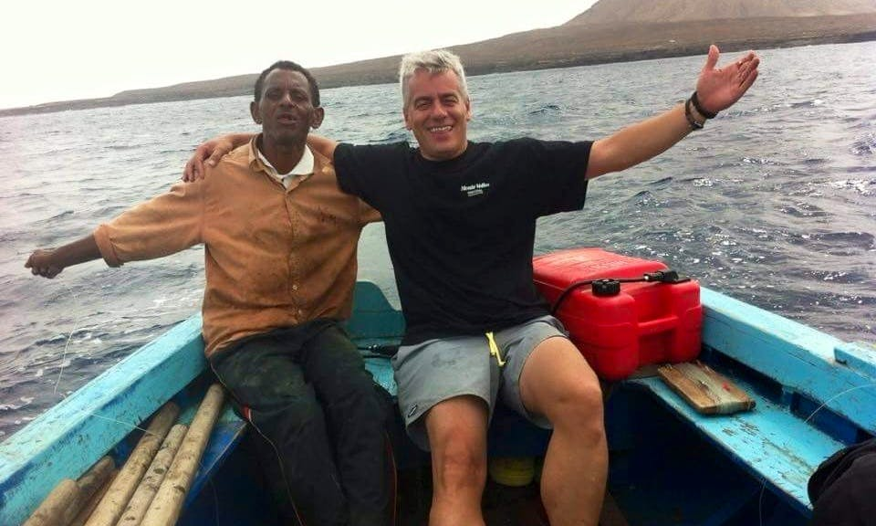 Enjoy Fishing in Palmeira, Cape Verde on a Dinghy