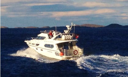 Charter a Motor Yacht in Bergen and Gulen area, Norway