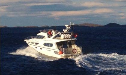 Charter a Motor Yacht in Bergen and Gulen area, Norway