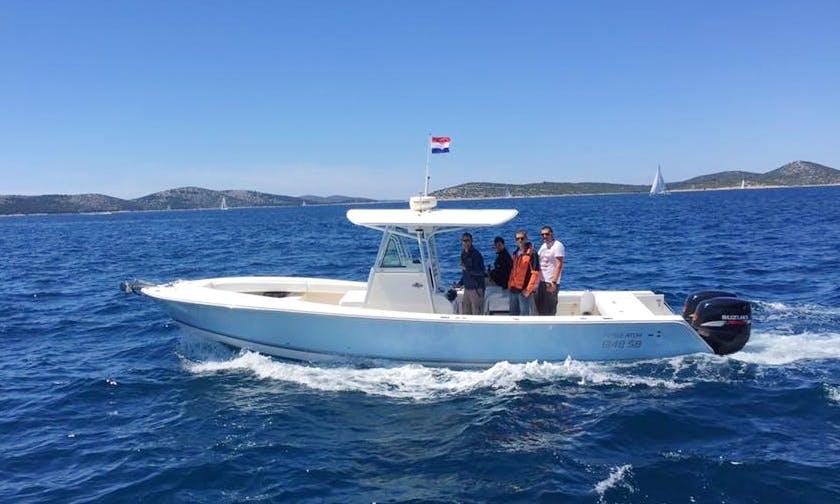 Charter 32' Regulator Center Console in Šibenik, Croatia