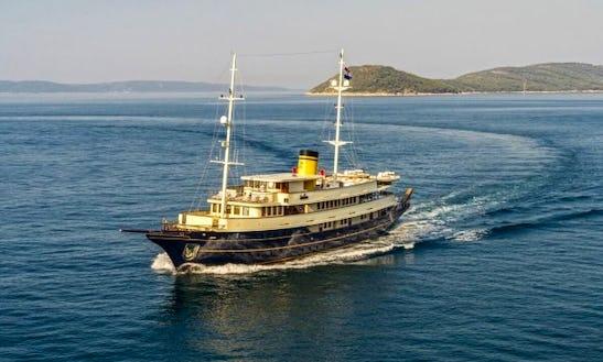Charter 167' Gulet In Jesenice, Croatia