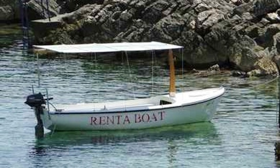 Rent 4 Person Motor Boat In Prižba, Croatia