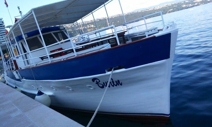 Boat Excursion in Opatija, Croatia