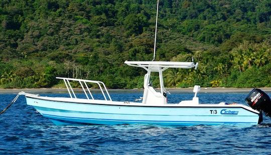 Go Fishing In A 27' Caribepro Panga Center Console Charter In Veraguas, Panama