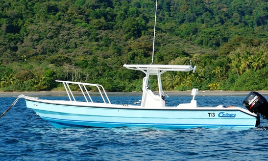 Go Fishing In A 27' Caribepro Panga Center Console Charter In Veraguas, Panama