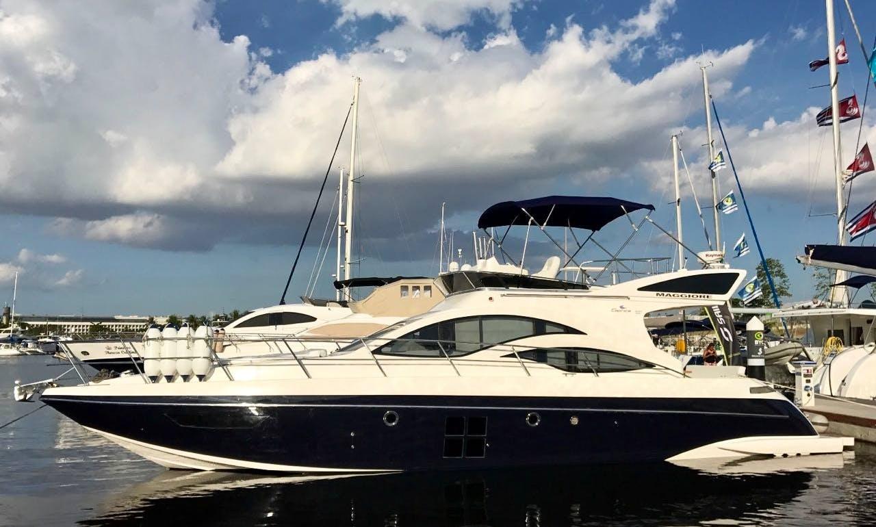 Yacht Maggiore 510 Limited 2017 for rent in Rio de Janeiro Brazil