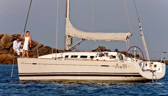 Charter 36' First 35 Cruising Monohull In Jezera, Croatia