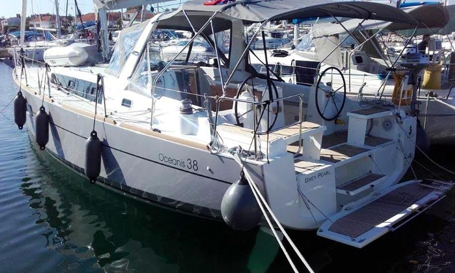 Charter 38' Oceanis Cruising Monohull in Jezera, Croatia