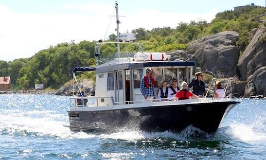 Charter A Elin Of Marstrand Trawler In Marstrand, Sweden