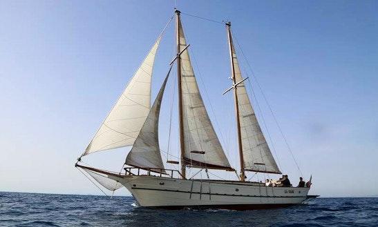 Charter 52' Schooner In Sorrento, Italy