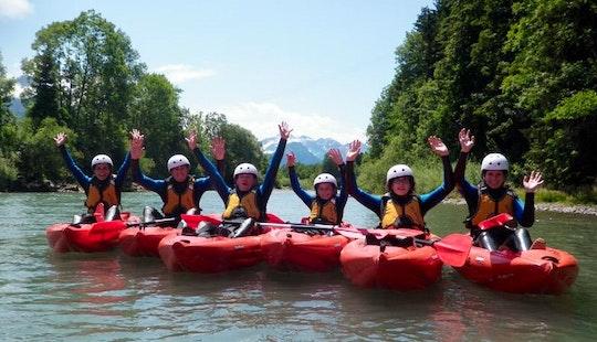 Enjoy Kayak Tours In Fischen Im Allgäu, Bavaria