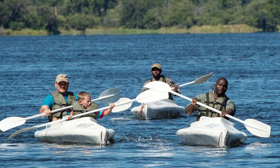 Enjoy Kayak Tours In Livingstone, Zambia