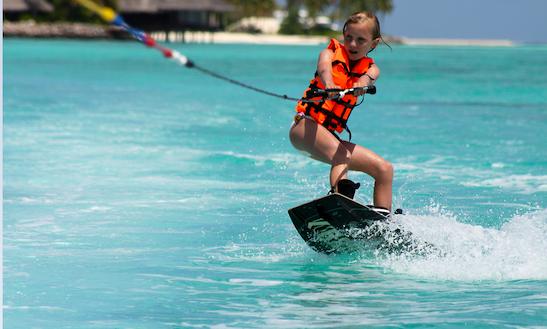 Enjoy Wakeboard Rentals & Lessons In Amilla Fushi, Republic Of Maldives