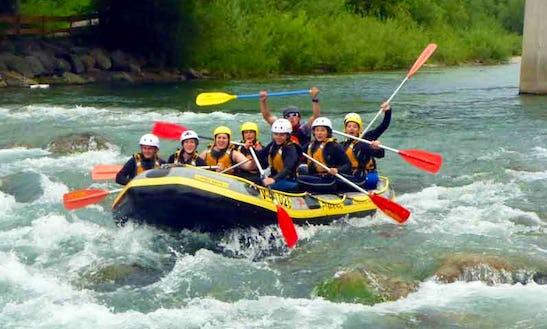 Enjoy Rafting Trips In Fischen Im Allgäu, Bavaria