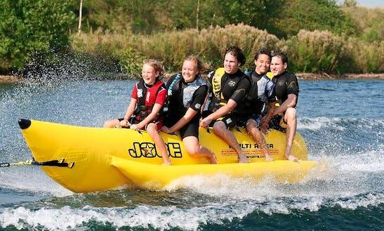 Enjoy Banana Boat Rides In Le Verdon-sur-mer, France