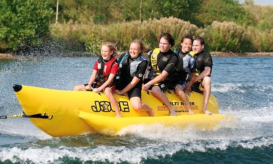 Enjoy Banana Boat Rides In Le Verdon-sur-mer, France