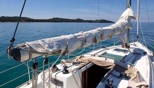Charter 37' Jeanneau Sun Fast Cruising Monohull In  Livorno, Italy