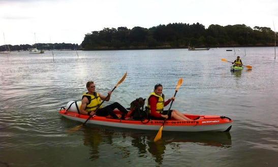 Enjoy Kayak Rentals In Bretagne, France