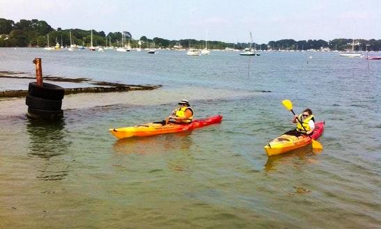 Enjoy Single Kayak Rentals In Bretagne, France
