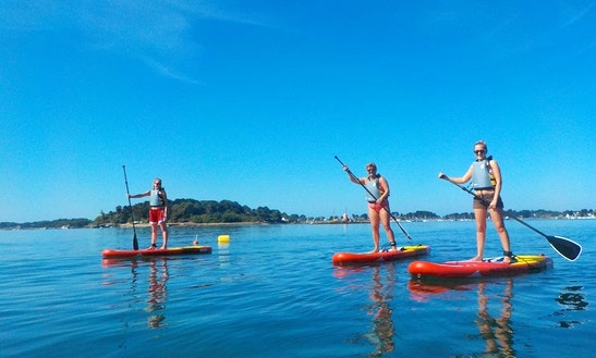 Enjoy Stand Up Paddleboard Rentals In Bretagne, France