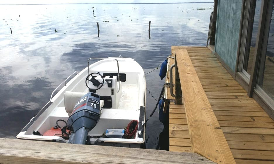 Scout Center Console Boat for Rent St Johns River, Florida