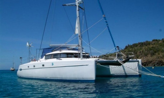 Charter 43' Sailing Catamaran In Cartagena, Colombia