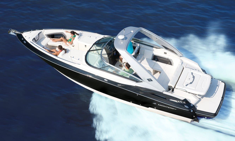 Charter 32ft Monterey 328 SS Motor Yacht In Mount Lebanon Governorate, Lebanon