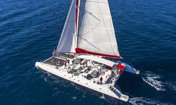 Charter 78' Cruising Catamaran In Panama, Panama