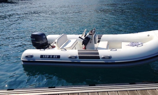 Rent 5 People Zodiac Inflatable Boat In Chiavari,italy