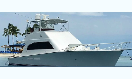 Charter On 55' Post Motor Yacht In Fajardo, Puerto Rico