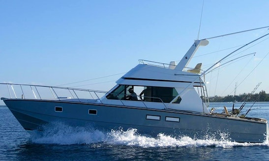 Exciting Deep Sea Fishing Charter For 10 People In Rivière Noire, Mauritius