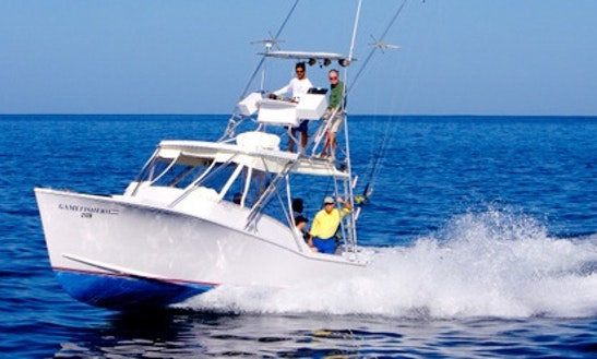 31' Palm Beach Custom Sports Fisherman In Playa Flamingo, Costa Rica