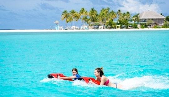 Enjoy Seabob Rides Amilla Fushi, Republic Of Maldives