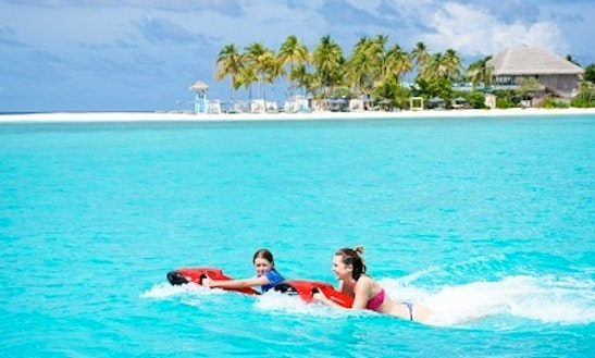 Enjoy Seabob Rides Amilla Fushi, Republic Of Maldives
