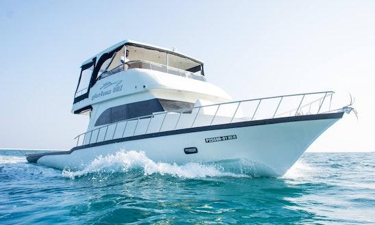 Enjoy Fishing In Amilla Fushi, Republic Of Maldives On Glorious 001 Power Mega Yacht