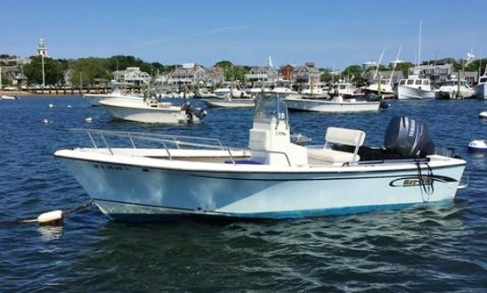 Rent The May-craft 19ft Center Console Skiff In Nantucket, Massachusetts