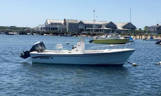 Enjoy Nantucket By Boat! Rent The 18ft May-craft Center Console